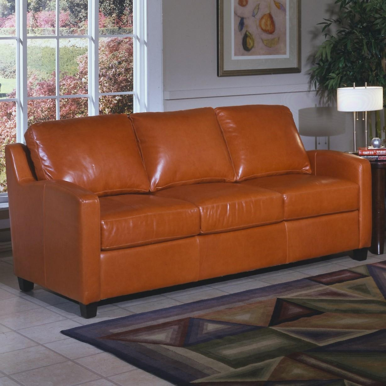 Caramel Leather Sofa | Sofa Gallery | Kengire Regarding Carmel Leather Sofas (Image 5 of 20)