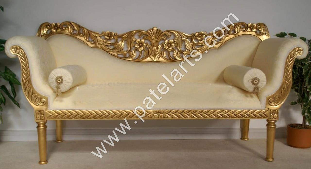 Carved Wood Sofa | Sofa Gallery | Kengire inside Carved Wood Sofas