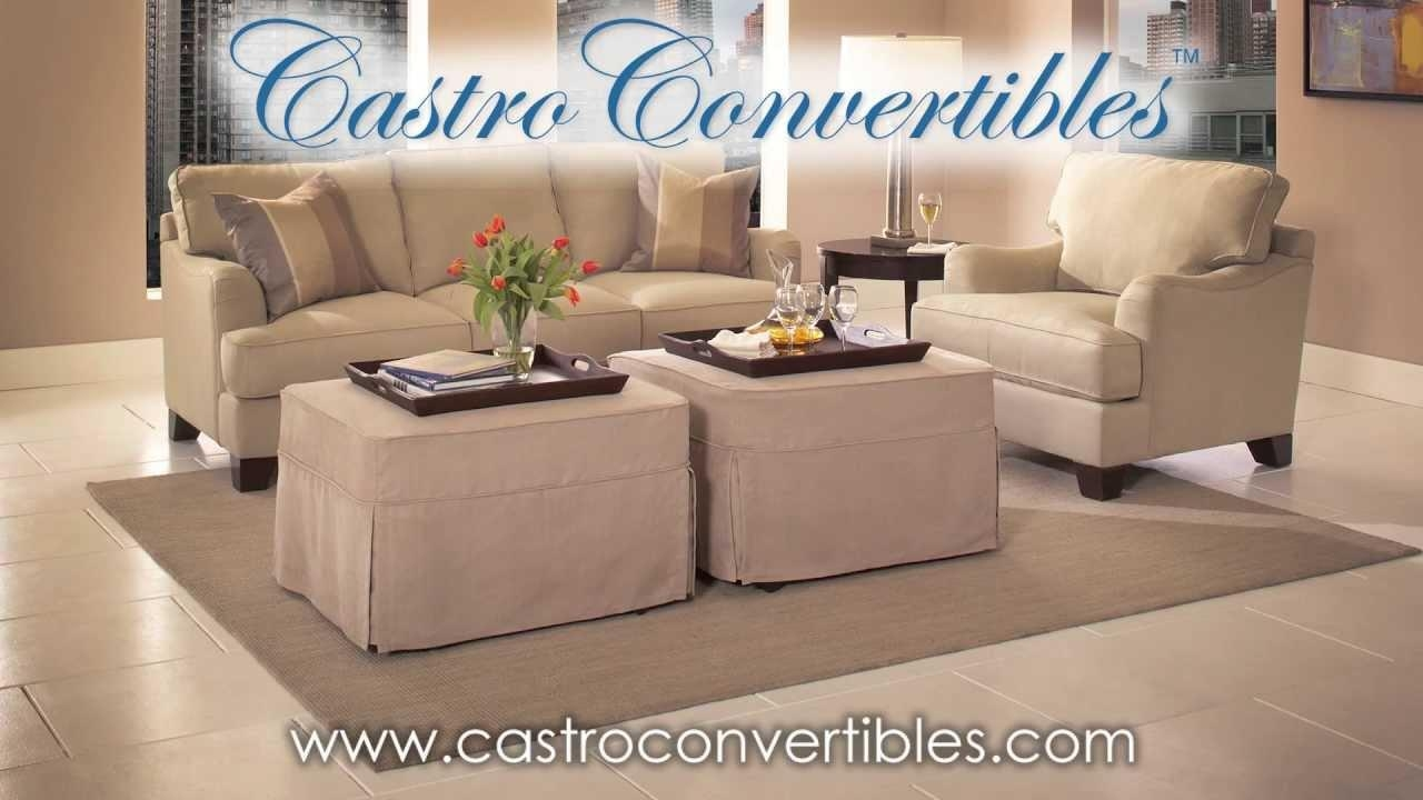 Castro Convertibles: Sale On The Deluxe (Twin) Ottoman – Youtube With Regard To Castro Convertible Sofas (Image 8 of 20)