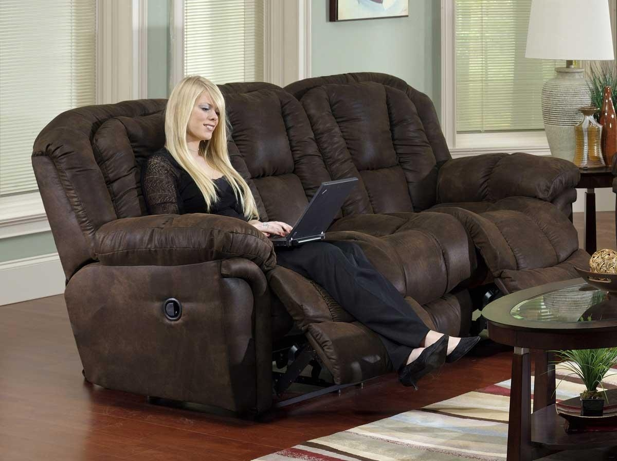Catnapper Contour Dual Reclining Sofa Cn 3921 At Homelement Throughout Catnapper Recliner Sofas (View 20 of 20)