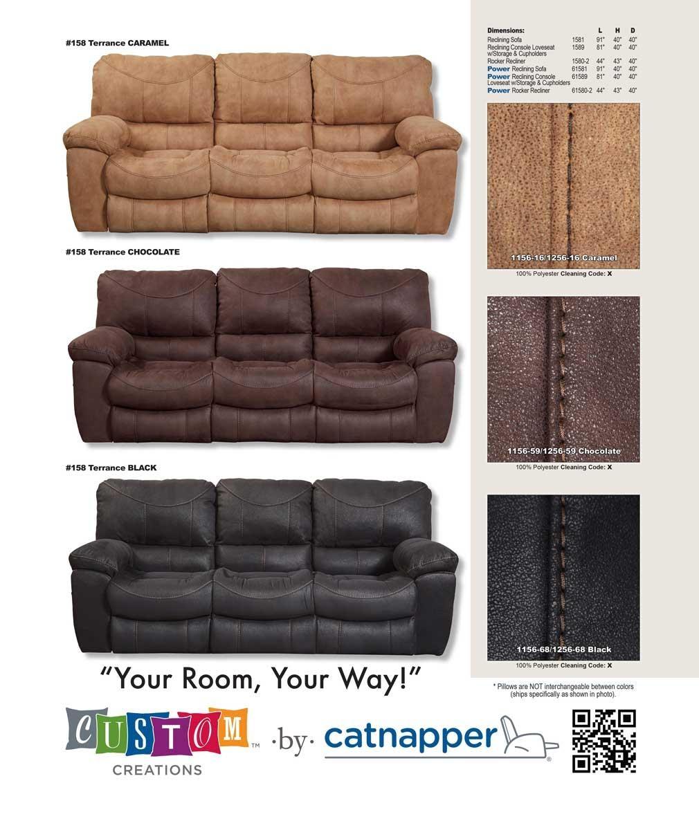 Catnapper Terrance Reclining Sofa – Caramel Cn 1581 Caramel At With Catnapper Sofas (Image 9 of 20)