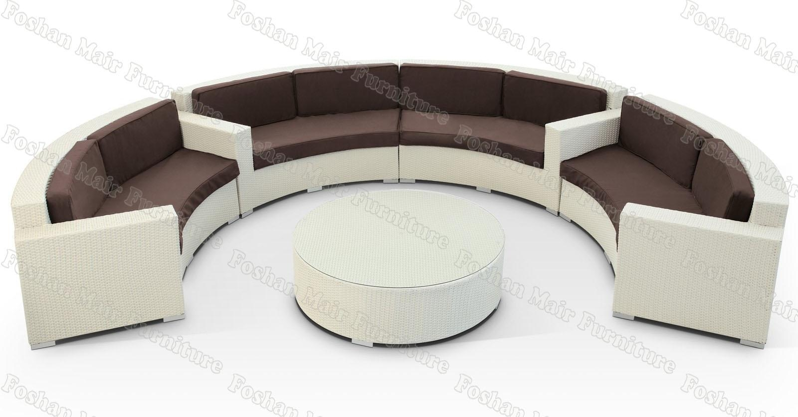 Chair Covers For Sofa | Tehranmix Decoration With Round Sofas (Image 2 of 20)