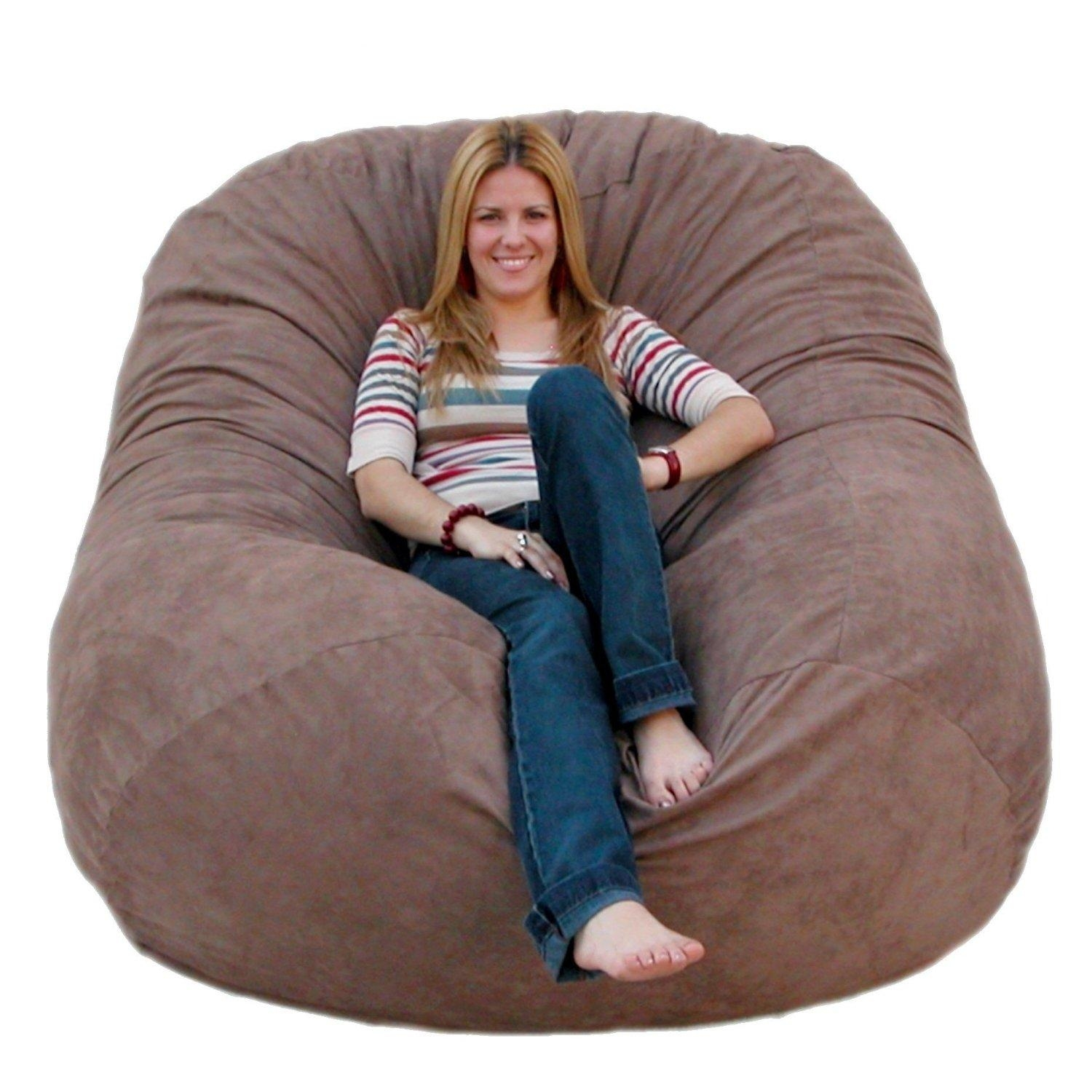 Chair Furniture Bedding Giant Bean Bag Funny Bags And Poufs Tabl With Giant Bean Bag Chairs (Image 4 of 20)