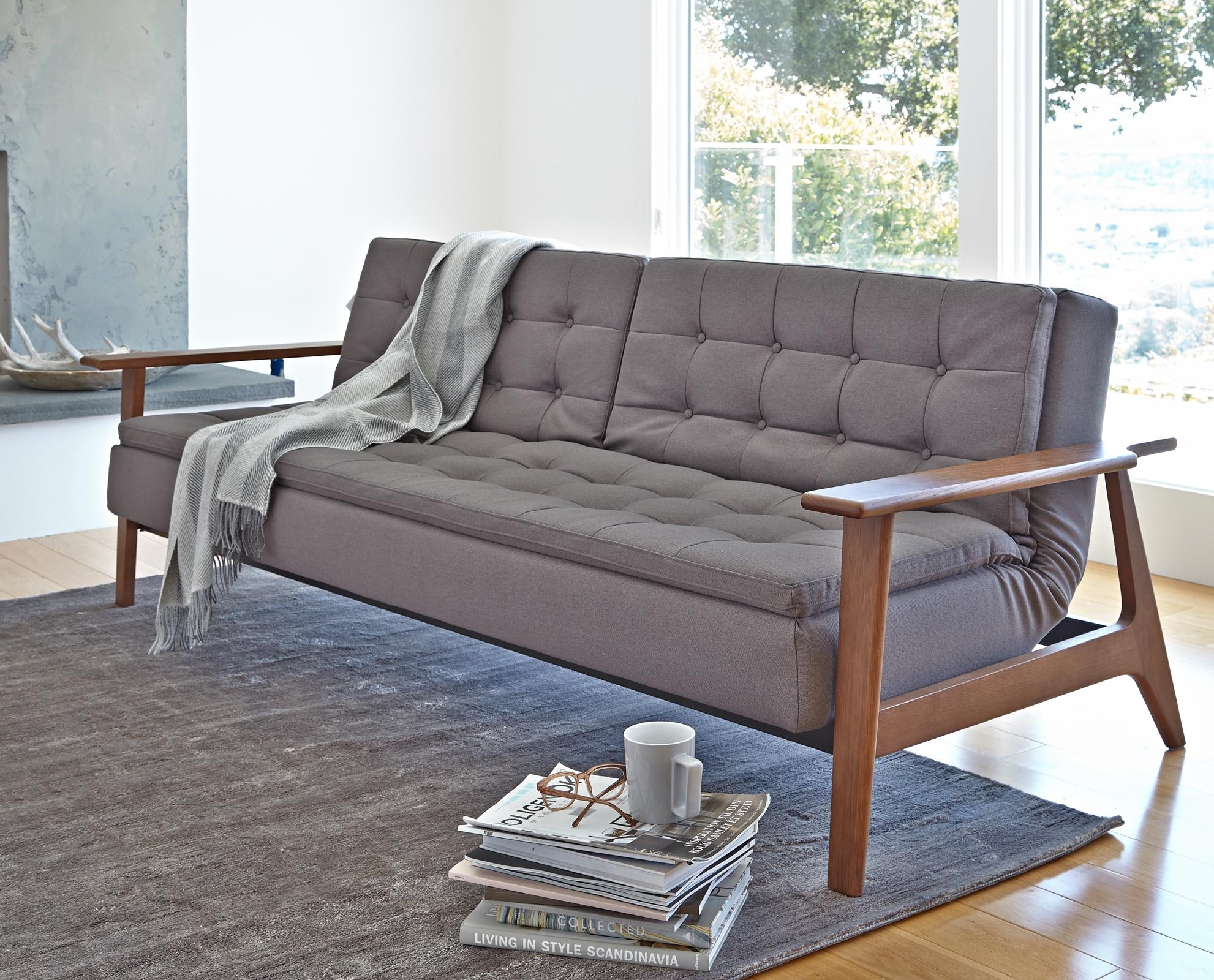 Chair Furniture Comfortable Convertible Sofa Bed Collections Black Regarding Convertible Sofa Chair Bed (View 8 of 20)