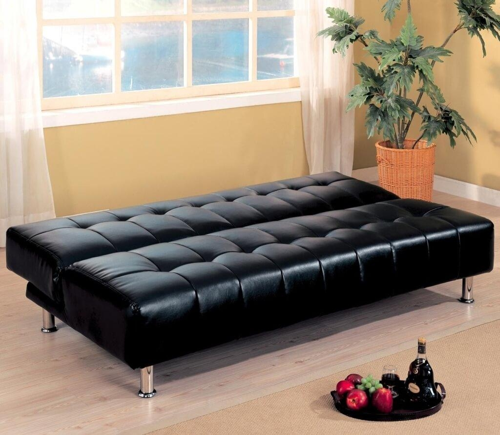Chair Furniture Comfortable Convertible Sofa Bed Collections Black Within Comfortable Convertible Sofas (View 16 of 20)