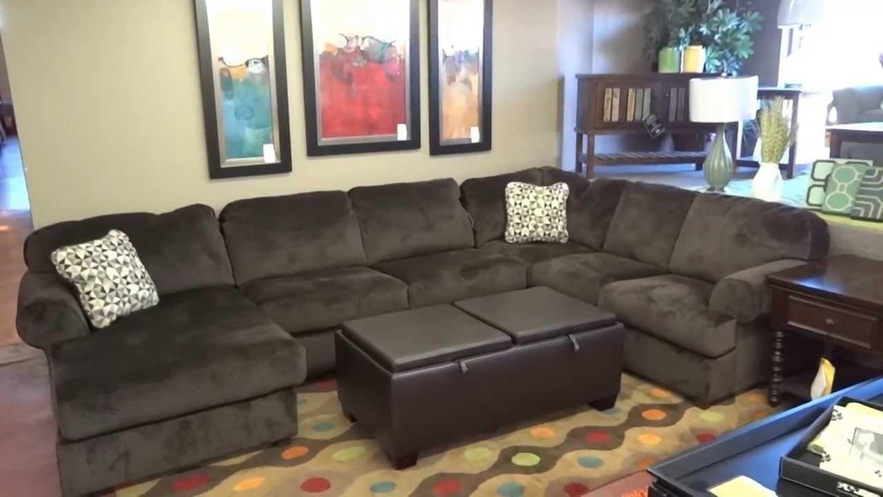 Chair & Sofa: Have An Interesting Living Room With Ashley Pertaining To Ashley Faux Leather Sectional Sofas (Image 5 of 20)