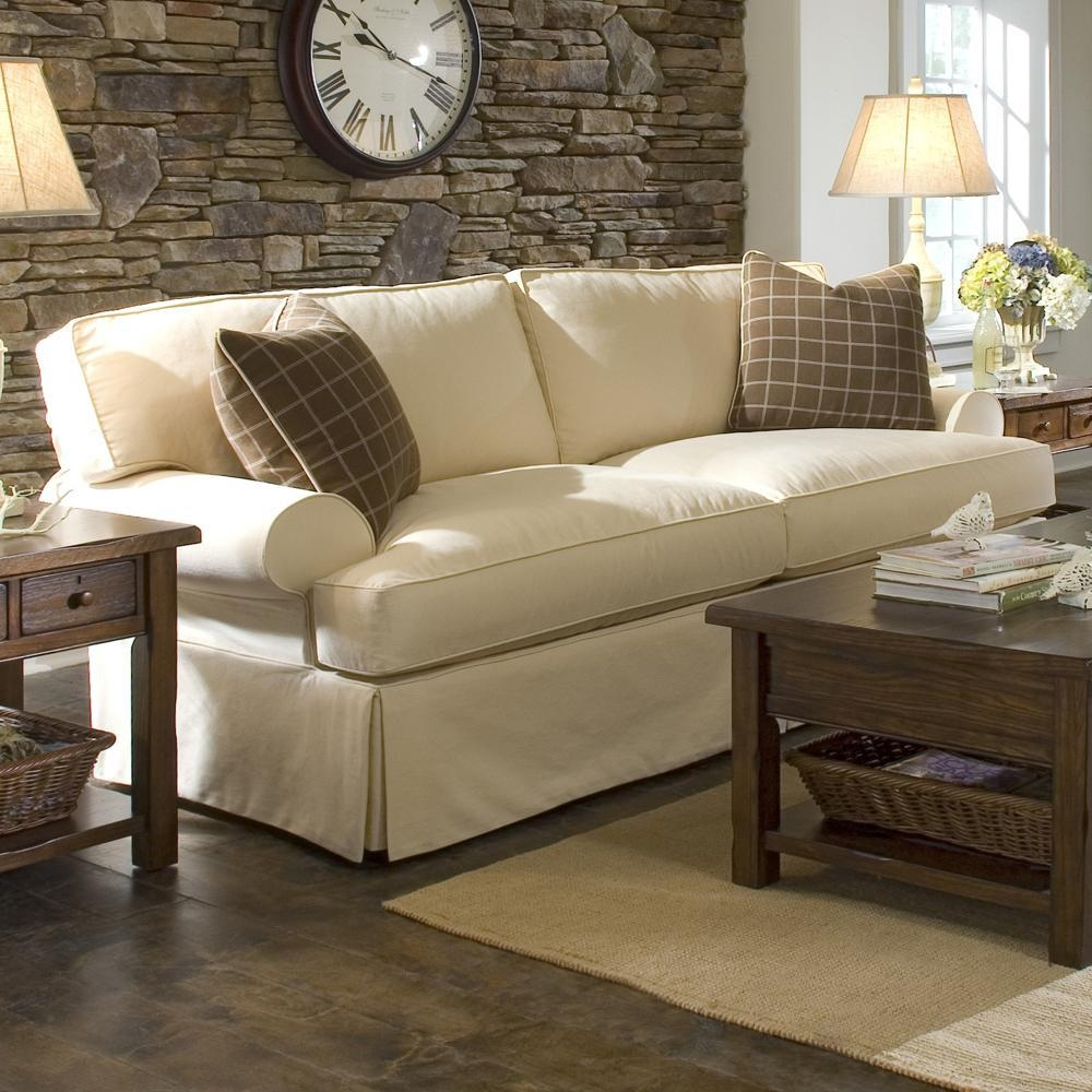 Chair & Sofa: Usual Slipcovered Sofas For Classic Sofa Idea In Arhaus Slipcovers (Image 6 of 20)