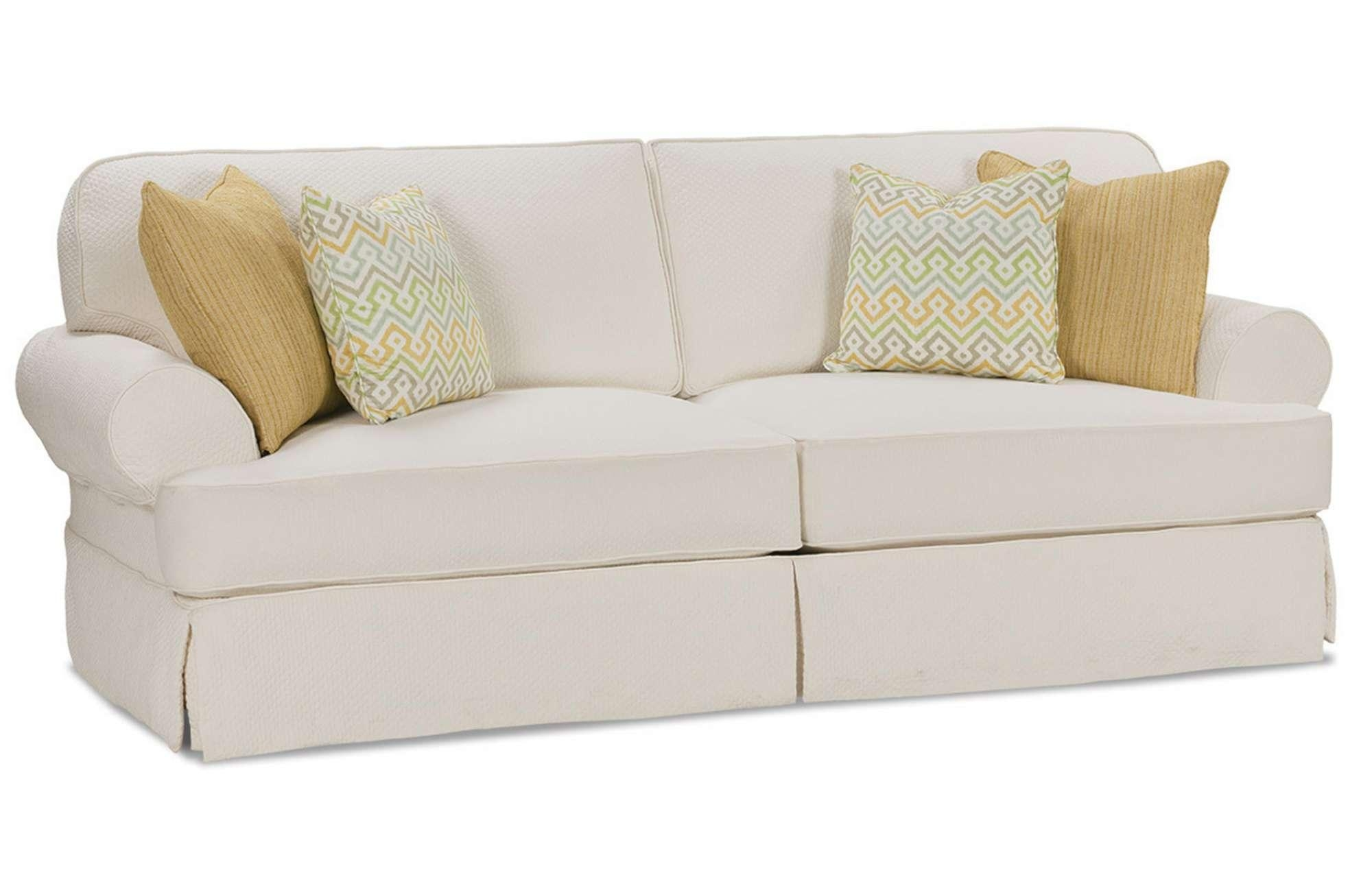 Chair & Sofa: Usual Slipcovered Sofas For Classic Sofa Idea Pertaining To Washable Sofas (Image 1 of 20)