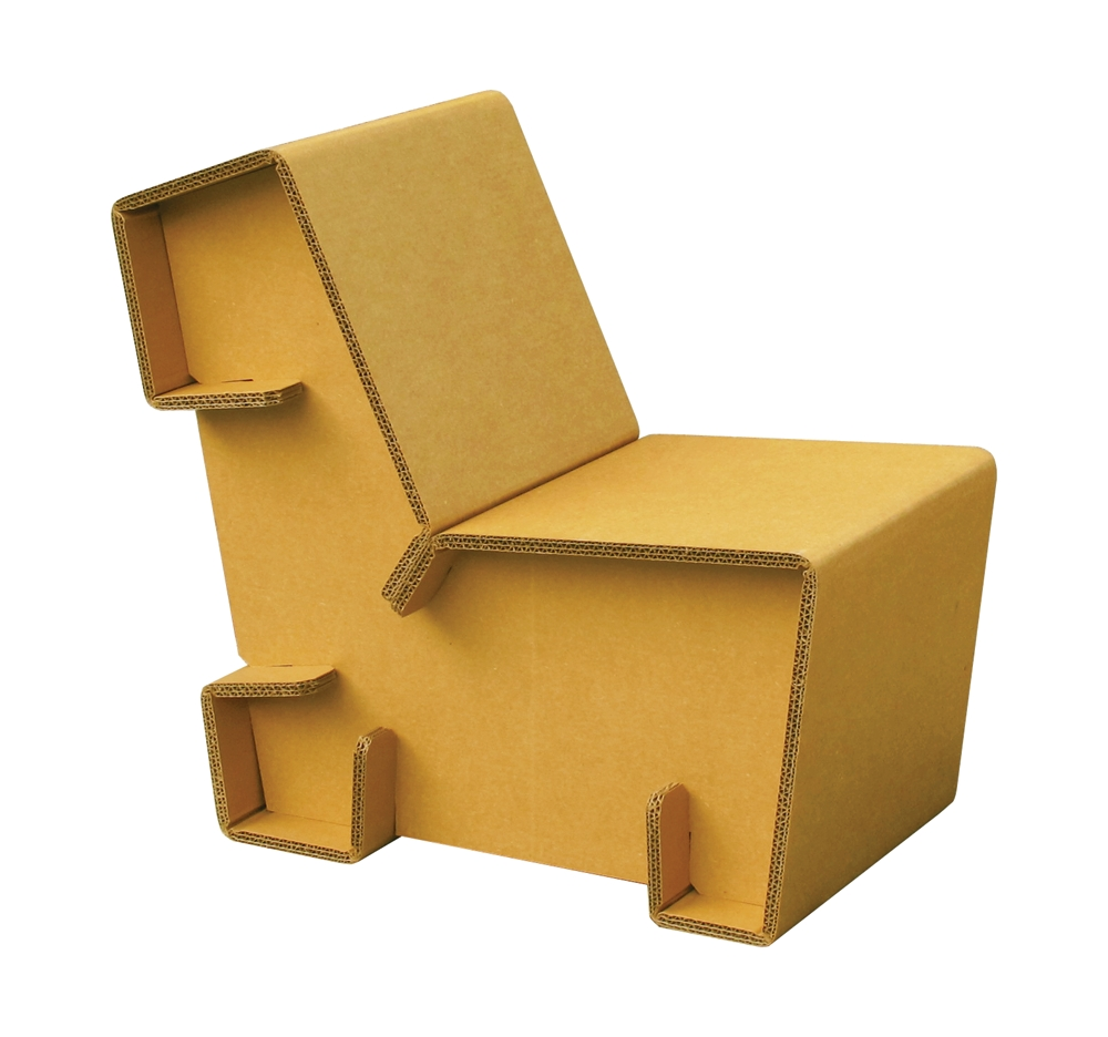 Chairigami – Furniture For The Urban Nomad – Ink Publications With Cardboard Sofas (Image 11 of 20)