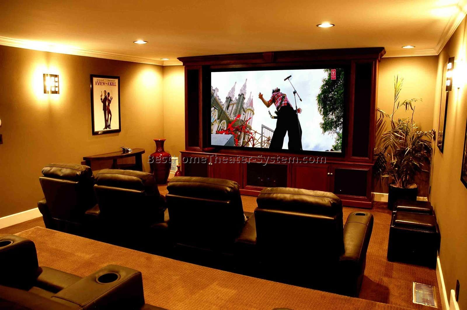 Chairs For Home Theater Room | Best Home Theater Systems | Home In Theater Room Sofas (Image 2 of 20)