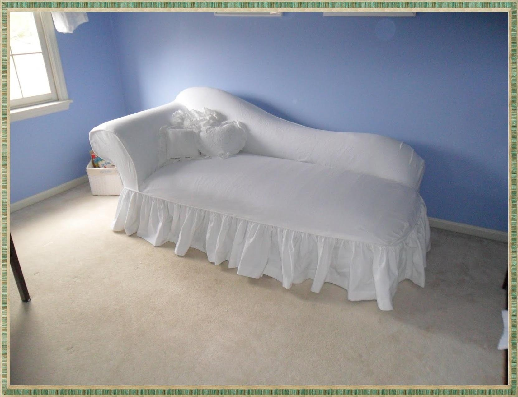 Chaise Lounge Slipcover | Home Decorations Ideas Intended For Slipcovered Chaises (Image 1 of 20)