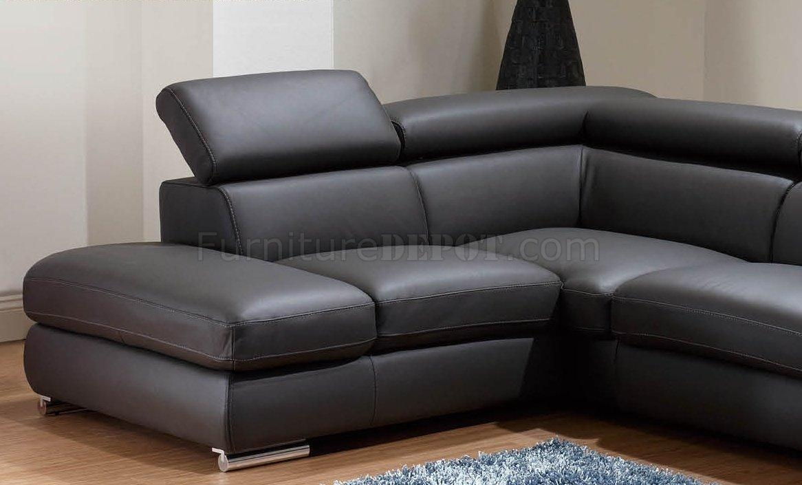 Charcoal Leather Sofa Teachfamiliesorg