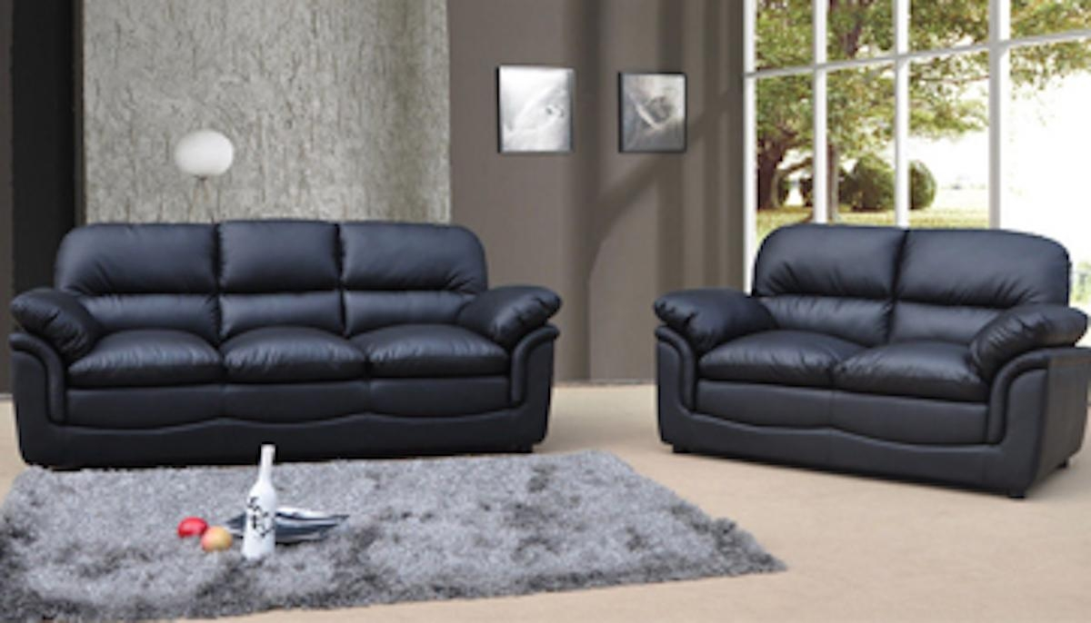 Charcoal Grey Leather Sofa With Concept Photo 27378 | Kengire In Charcoal Grey Leather Sofas (Image 2 of 20)