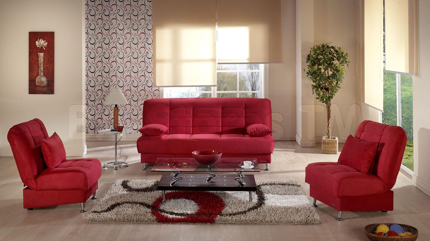 Charming Red Living Room Chairs Ideas – Red Couches Living Room Inside Red Sofas And Chairs (Image 3 of 20)