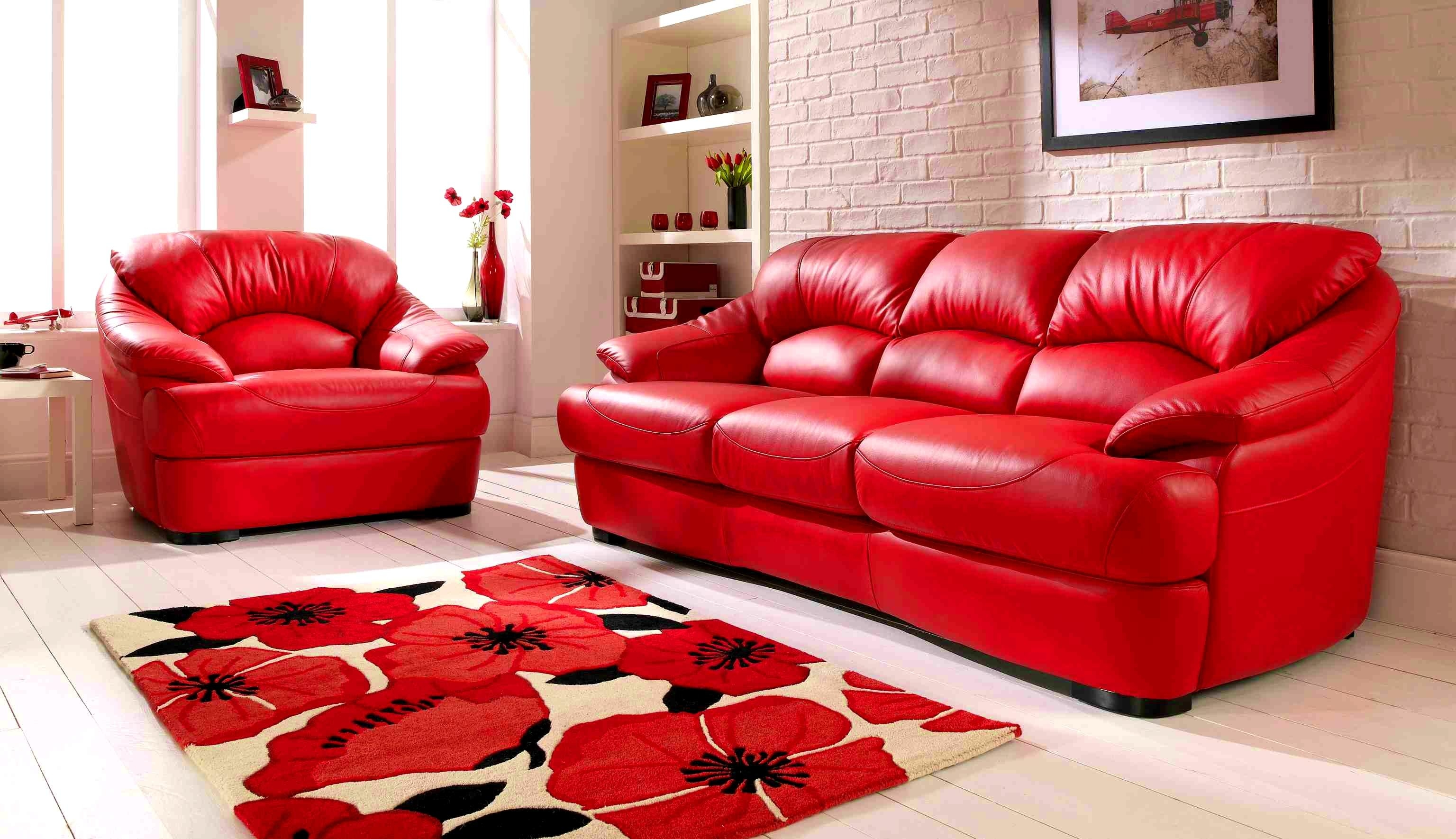 Cheap Red Sofas In Cheap Red Sofas (Image 3 of 20)