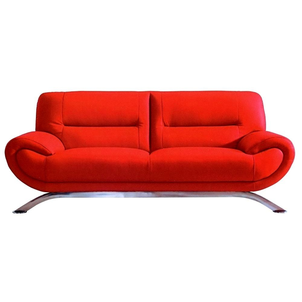 Cheap Red Sofas Intended For Cheap Red Sofas (View 10 of 20)