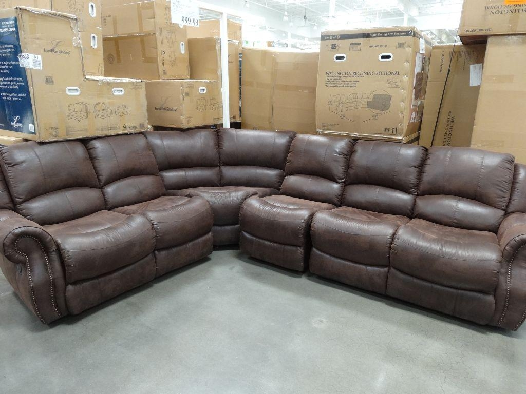 Cheers Clayton Leather Sofa Costco Review – Revistapacheco Within Cheers Leather Sofas (Image 1 of 20)