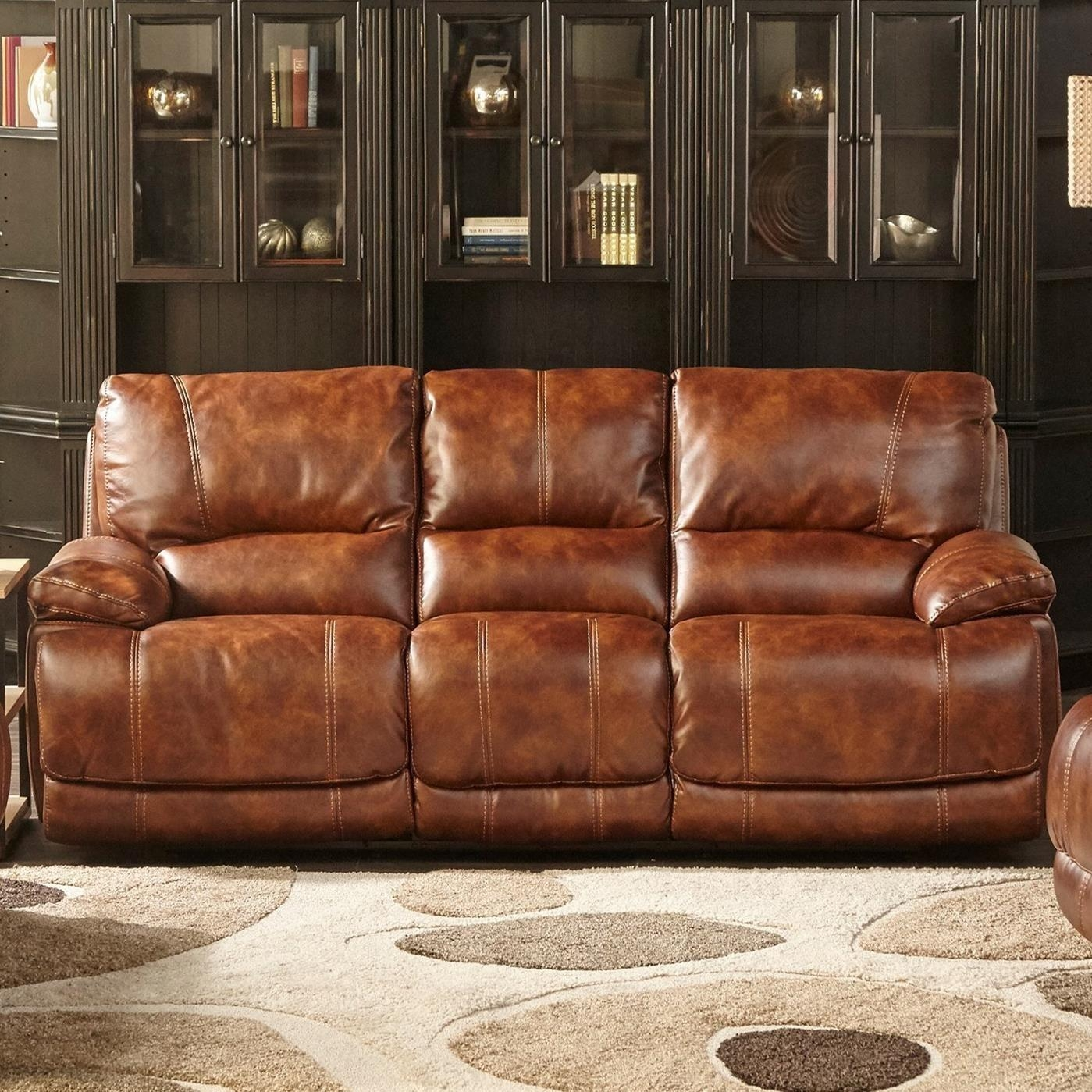 Cheers Sofa 5185M Dual Power Motion Sofa With Power Headrests Regarding Cheers Leather Sofas (Image 14 of 20)