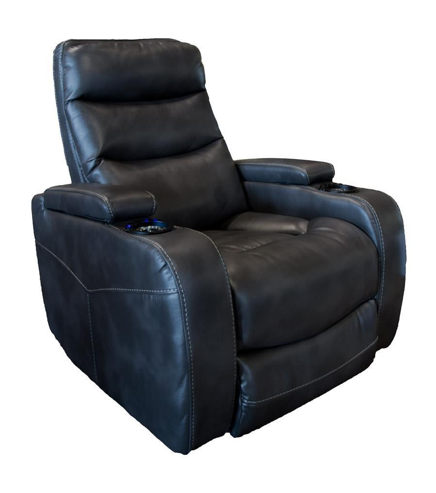 Cheers Sofa Recliners Charcoal Power Recliner With Lights – Great Pertaining To Cheers Sofas (Image 8 of 20)