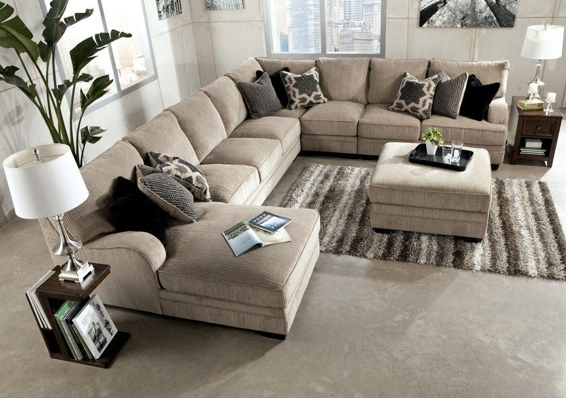Featured Image of Chenille Sectional Sofas With Chaise