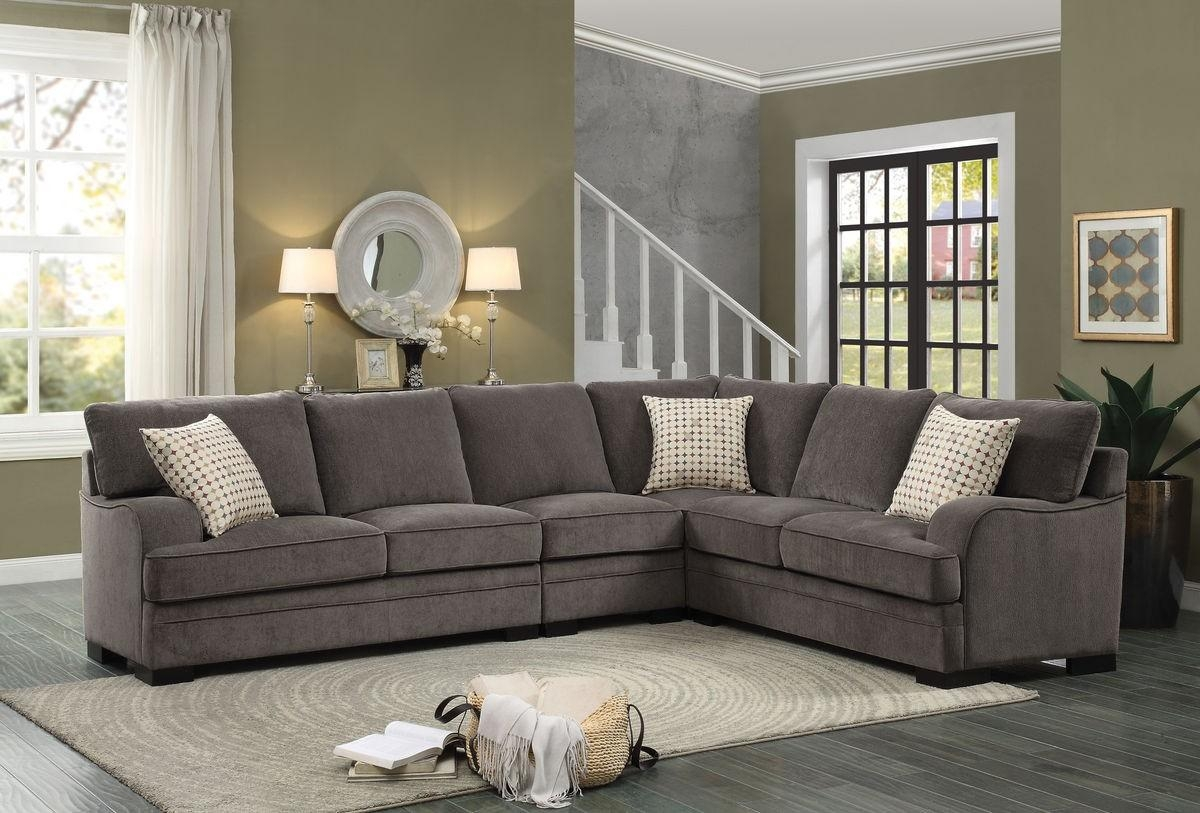 Chenille Sofas For Sale   Tehranmix Decoration For Leather And Chenille Sectional (View 8 of 20)