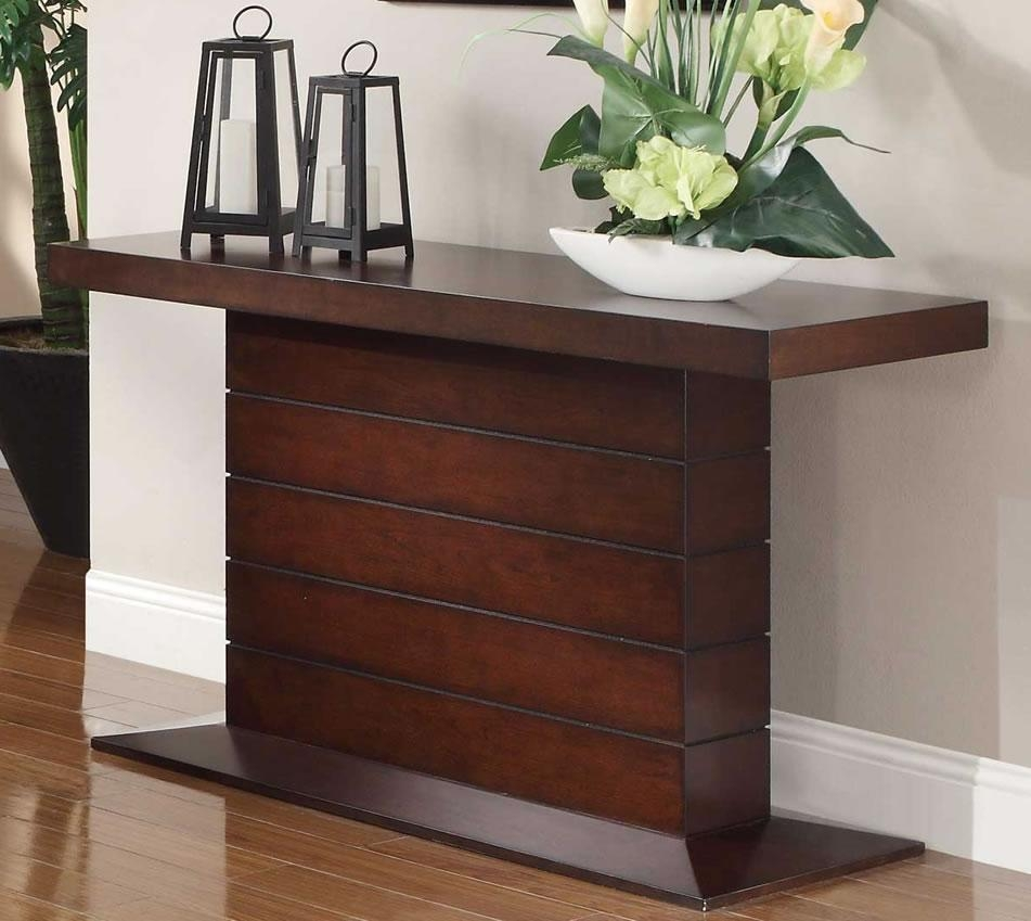 Cherry Wood Sofa Table Modern — Home Design Stylinghome Design Styling Inside Cherry Wood Sofa Tables (View 14 of 20)