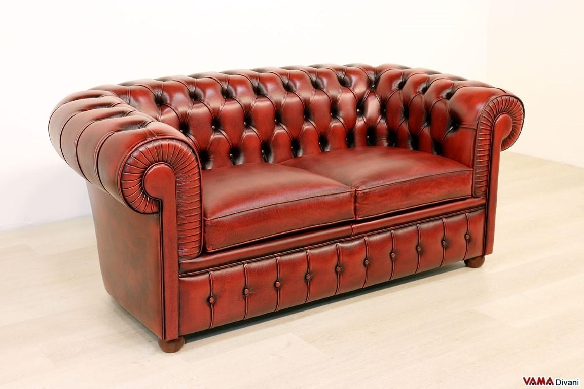 Chesterfield 2 Seater Sofa | Price, Upholstery And Dimensions Pertaining To Red Chesterfield Sofas (Image 2 of 20)