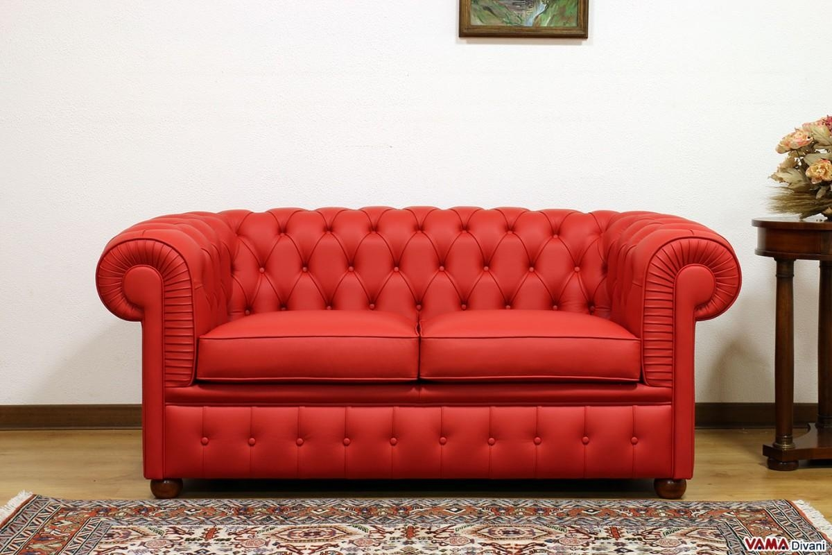 Chesterfield 2 Seater Sofa | Price, Upholstery And Dimensions With Regard To Red Leather Chesterfield Sofas (Image 1 of 20)