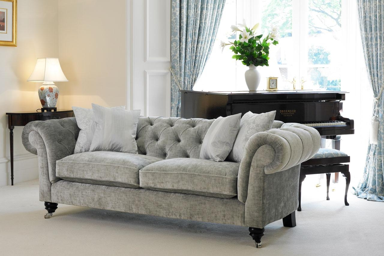 Chesterfield Sofa | Delcor Bespoke Furniture Throughout Chesterfield Sofas And Chairs (Image 5 of 20)
