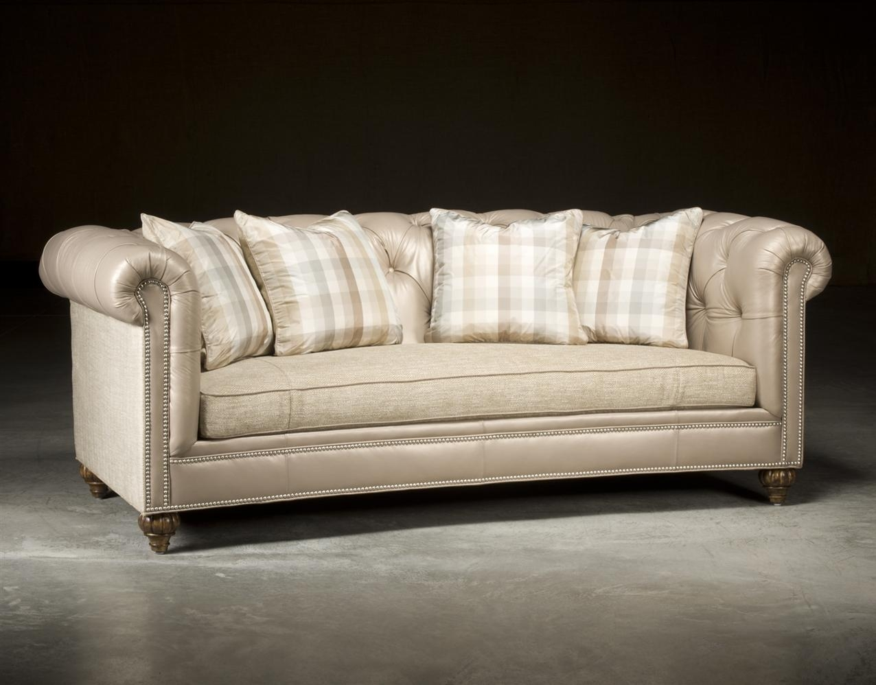 Chesterfield Tufted Sofa, High End Upholstered Furniture Pertaining To High End Sofa (Image 4 of 20)