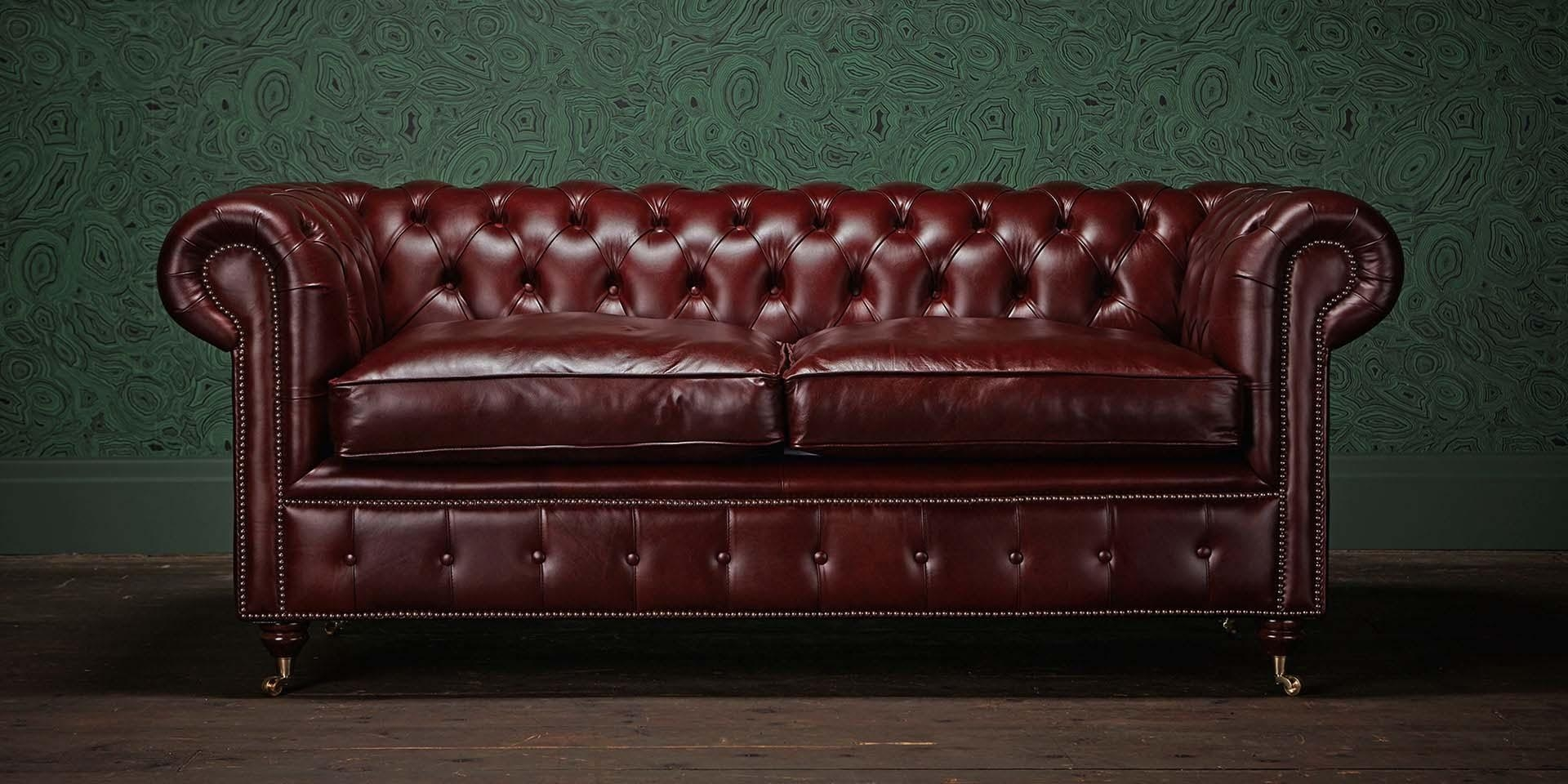 Chesterfields Of England | The Original Chesterfield Company For Leather Chesterfield Sofas (Image 8 of 20)
