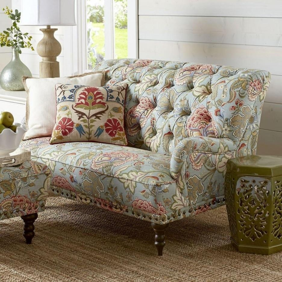 20 Best Ideas Chintz Fabric Sofas: 20 Inspirations Floral Slipcovers