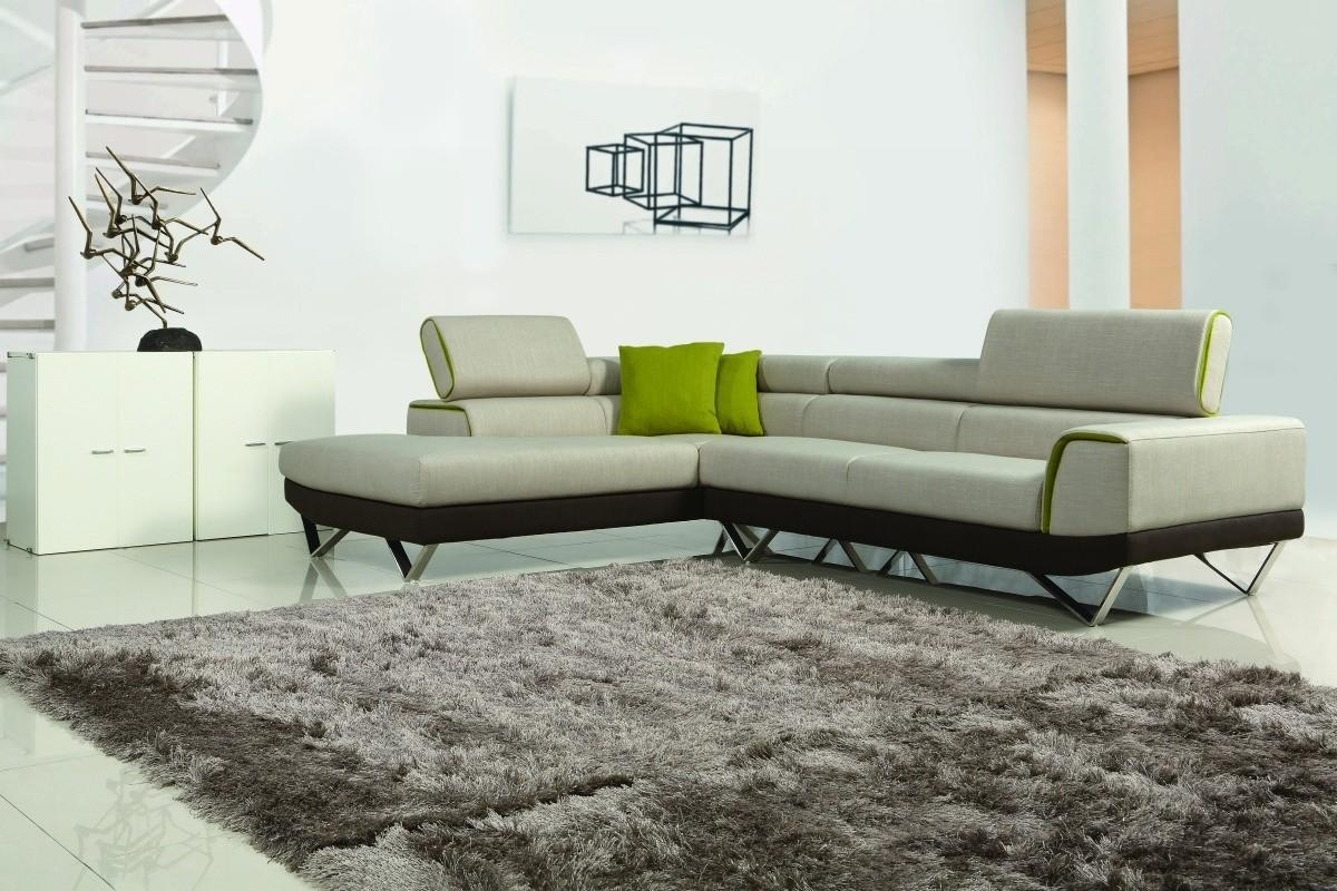 Choosing Between Leather And Fabric Modern Sofas – La Furniture Blog Within Contemporary Fabric Sofas (Image 3 of 20)