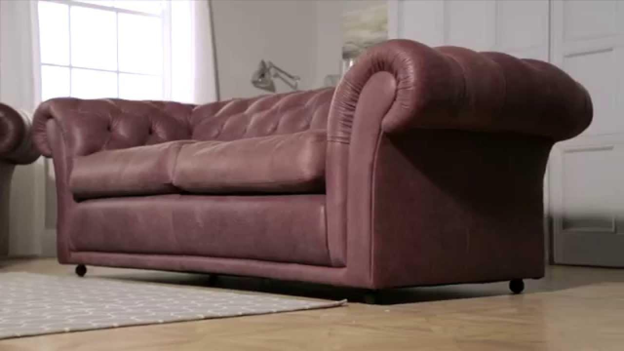 Churchill Chesterfieldsofasaxon – Youtube Inside Churchill Sofas (View 8 of 20)