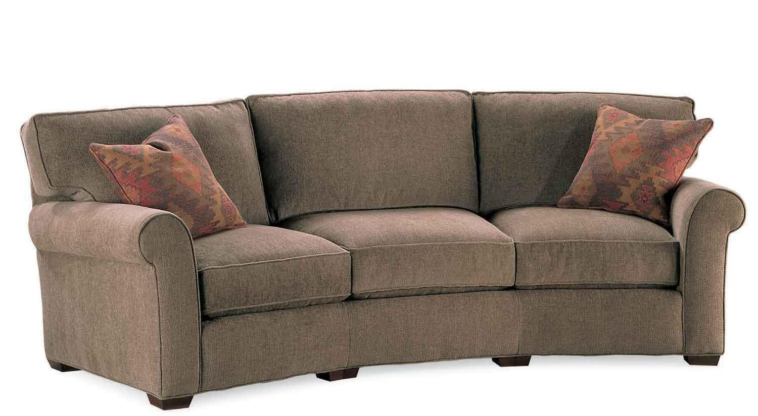 Circle Furniture – Taylor Wedge Sofa | Wedge Couches Ma | Circle Regarding Circle Sofas (Image 7 of 20)