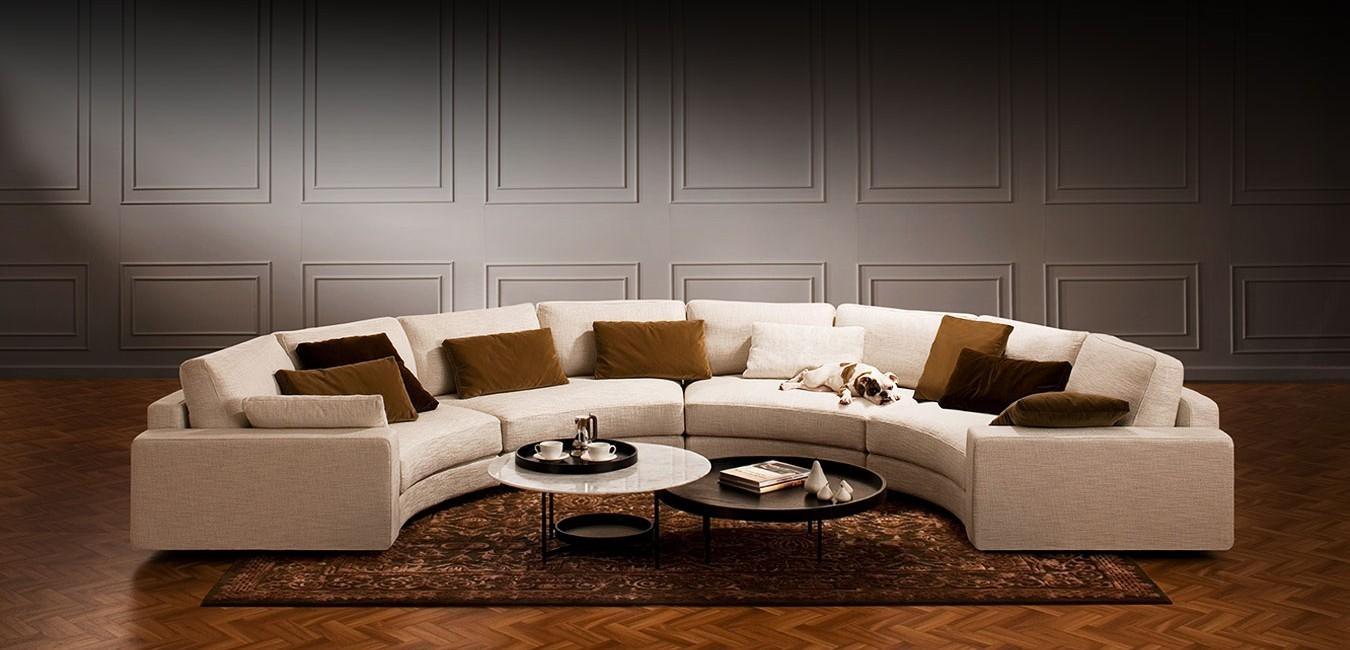 Circle Sofa Australia | Tehranmix Decoration Intended For Semi Sofas (Image 3 of 20)