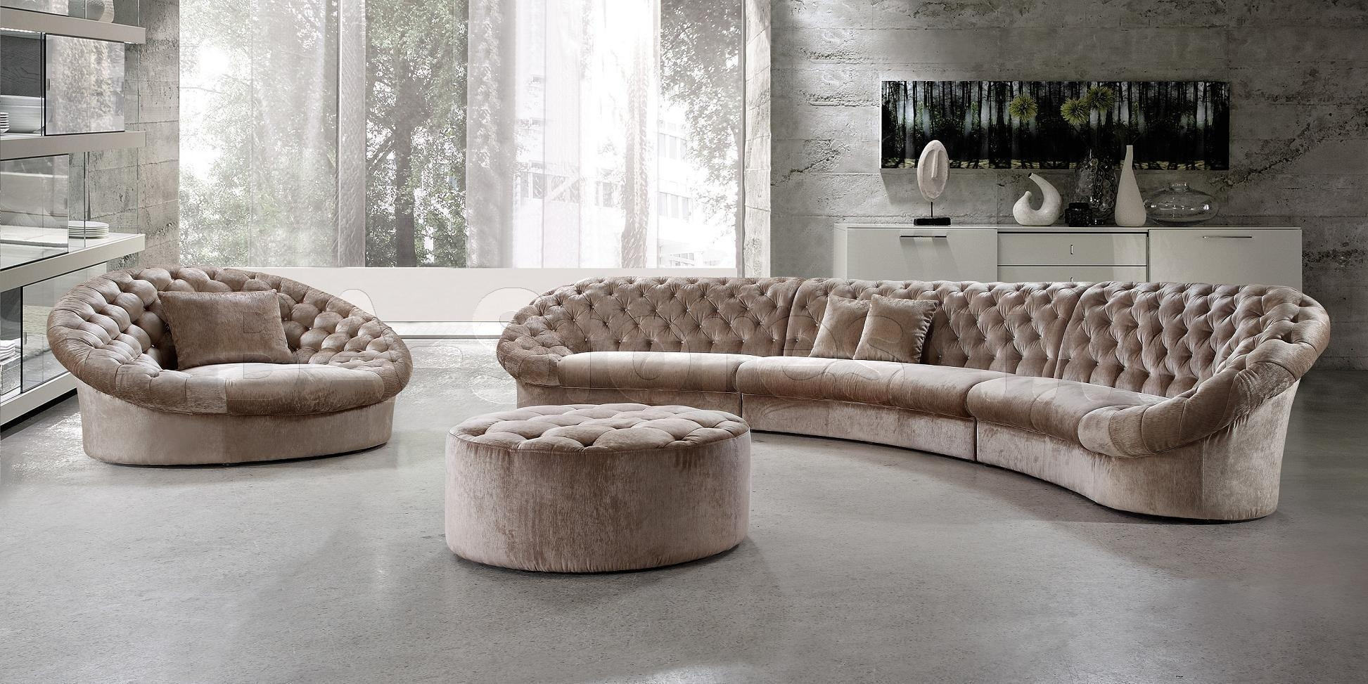 Circle Sofa Sectional | Tehranmix Decoration Inside Semi Sofas (Image 4 of 20)