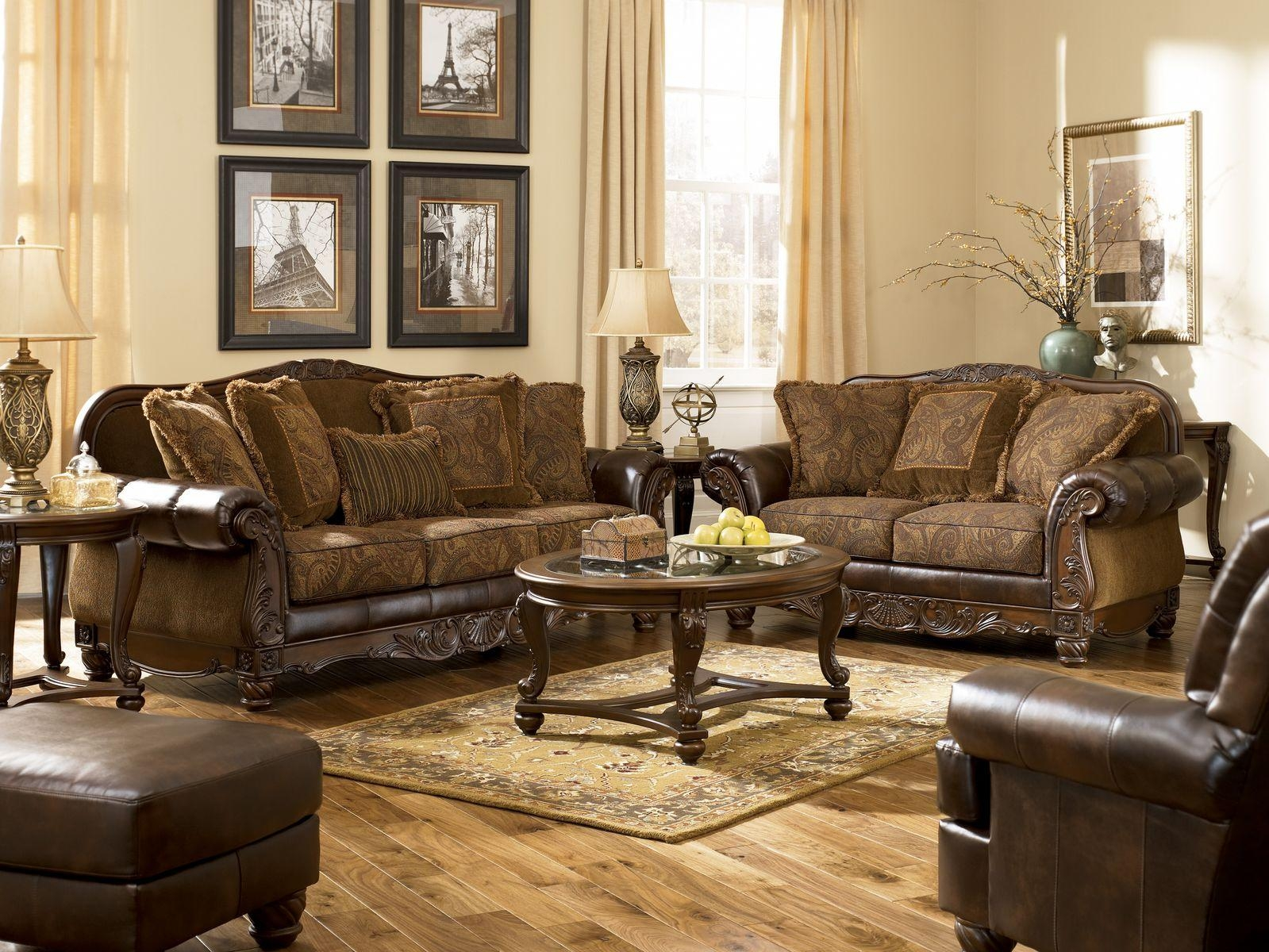 Classic Living Room Furniture Sets With Formal Luxury Sofa Set Regarding Elegant Sofas And Chairs (Image 9 of 20)