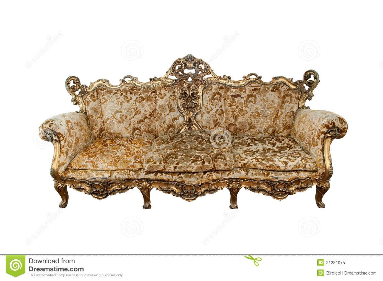Classical Carved Wooden Sofa Royalty Free Stock Images – Image Intended For Carved Wood Sofas (Image 8 of 20)