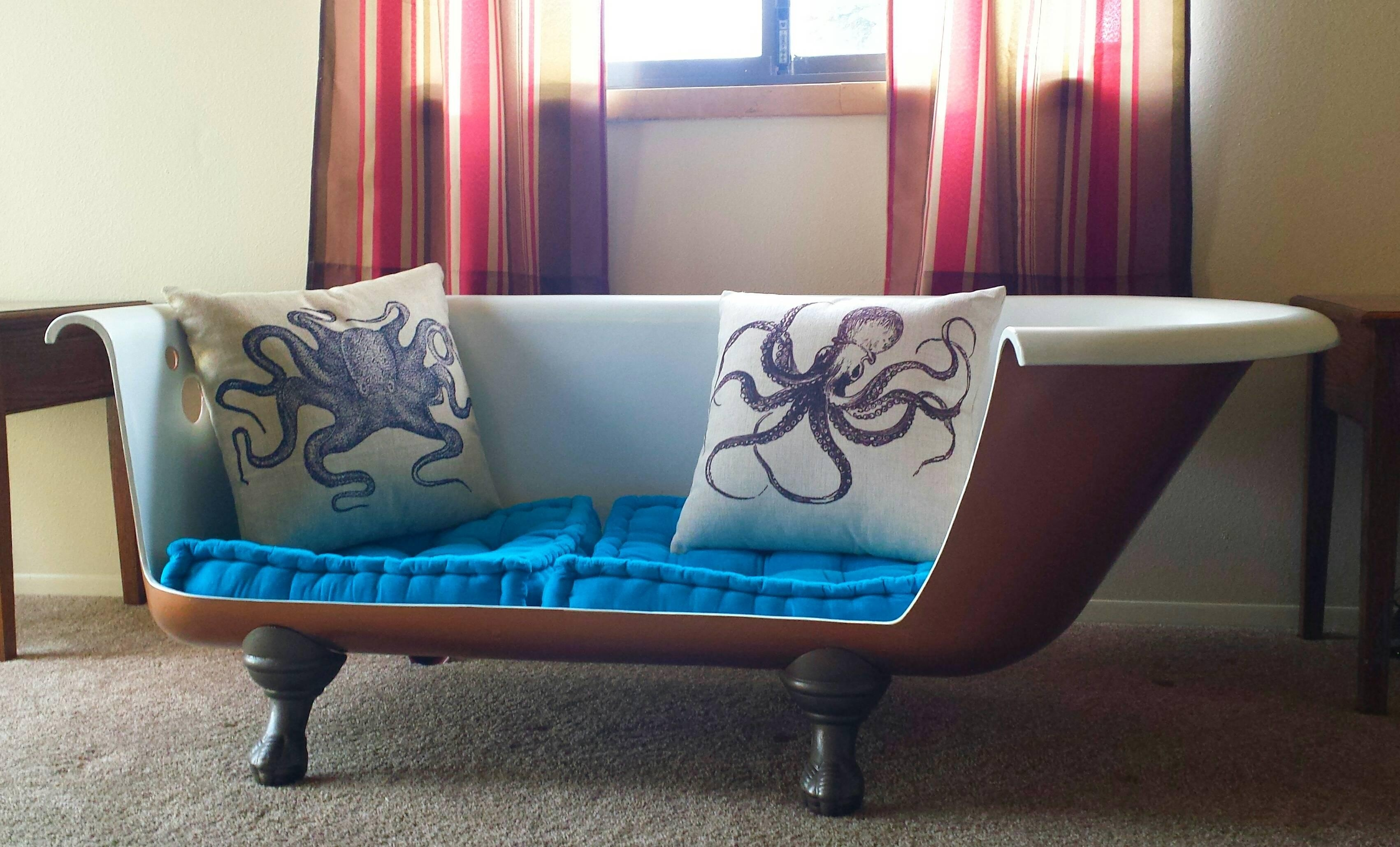 Clawfoot Tub Sofa – Cratem Pertaining To Clawfoot Tub Sofas (View 2 of 20)