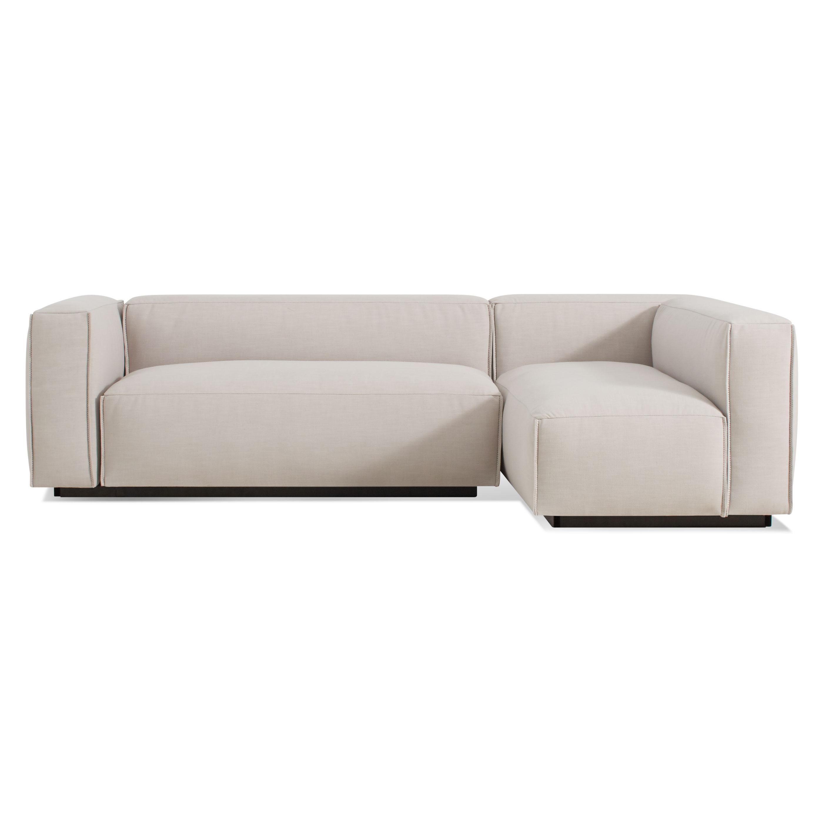 Cleon Small Modern Sectional Sofa | Blu Dot Intended For Mini Sectional Sofas (Image 3 of 20)