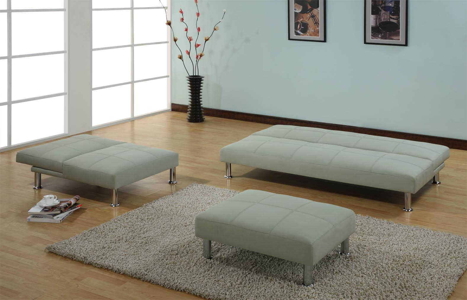 Click Clack Sofa Bed | Sofa Chair Bed | Modern Leather Sofa Bed Ikea With Regard To Aqua Sofa Beds (Image 7 of 20)