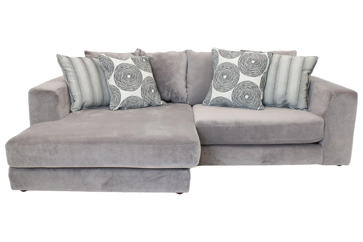 Cloud Graphite Sectional | Mor Furniture For Less With Regard To Cloud Sectional Sofas (View 2 of 20)