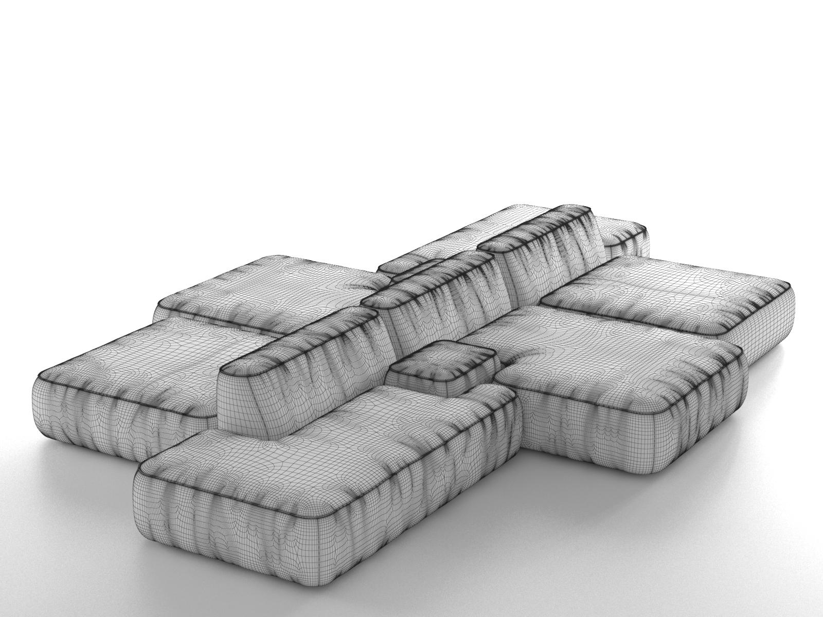 Cloud Magnetic Floating Sofa Professional Cleaning Microfiber In Throughout Magnetic Floating Sofas (Image 8 of 20)