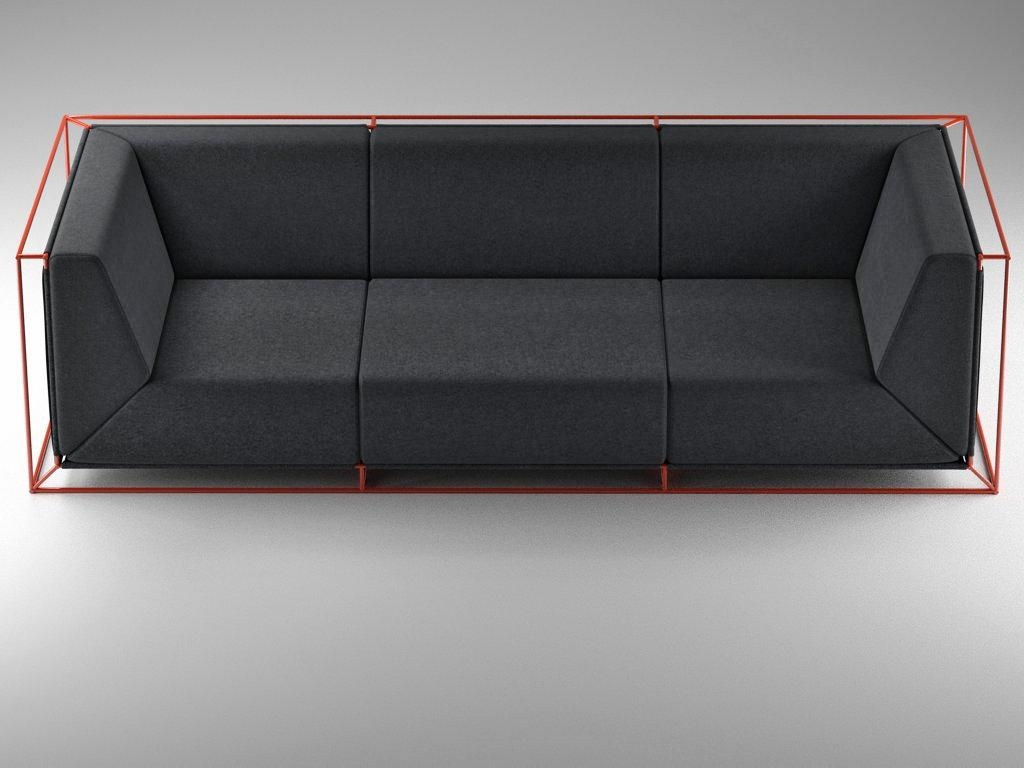 Cloud Magnetic Floating Sofa Stylus Sofas Bed Nyc Florence Knoll H In Floating Sofas (View 3 of 20)