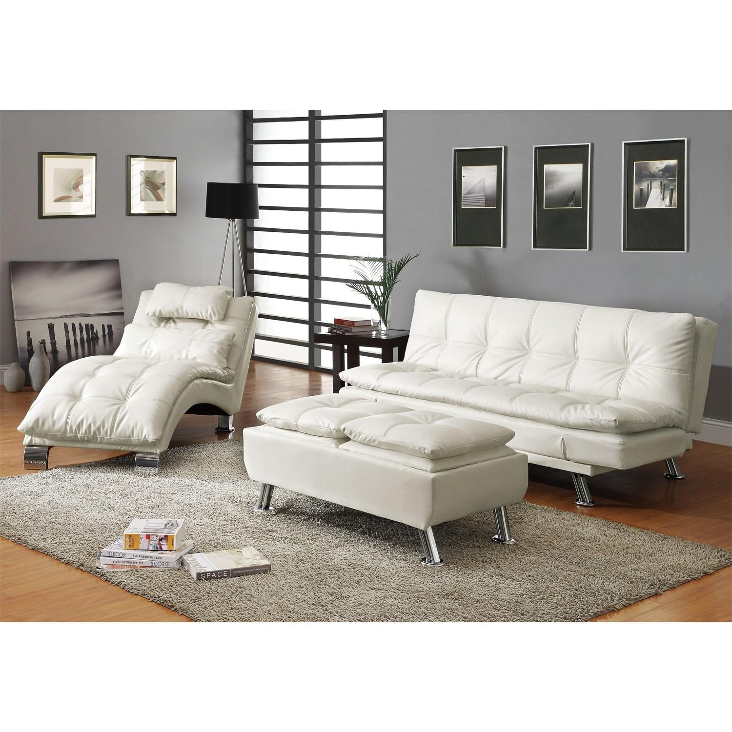 Coaster Furniture 300291 Contemporary Futon Sleeper Sofa Bed In Pertaining To Coaster Futon Sofa Beds (View 10 of 20)