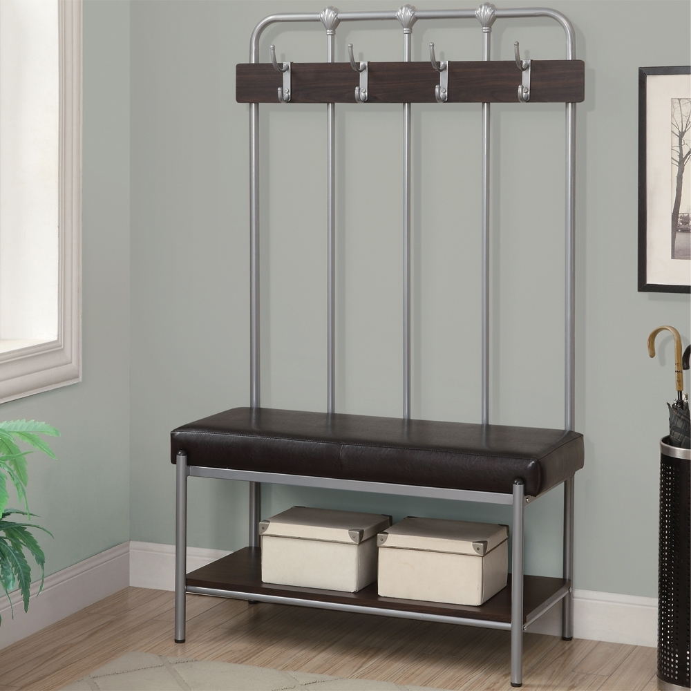 Coat Rack And Bench Ideas | Bench Decoration Within Coat Racks For Your Entryway (View 5 of 8)