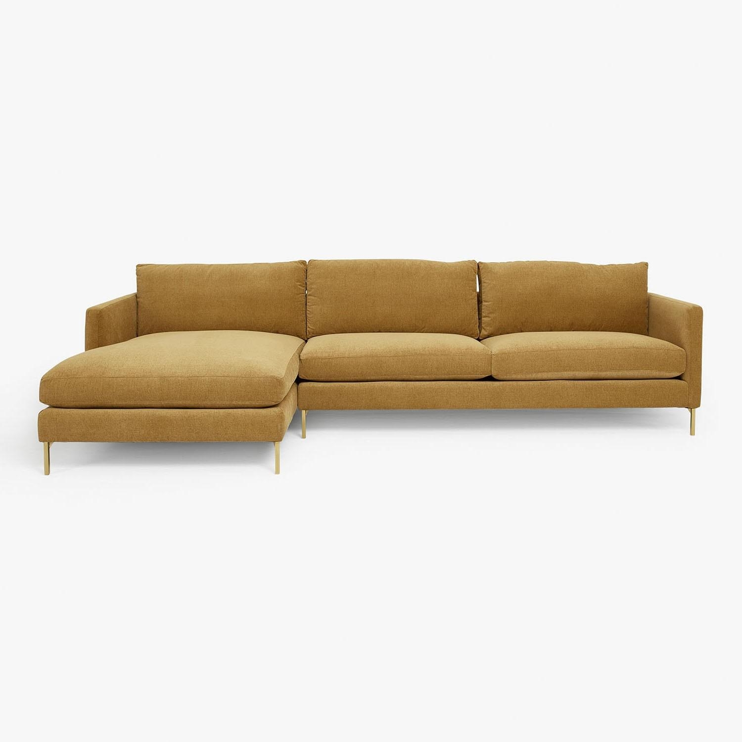 Cobble Hill Hannah Sectional A 1 Living Room Sofa Vintage Modern Intended For Cobble Hill Sofas (Image 10 of 20)