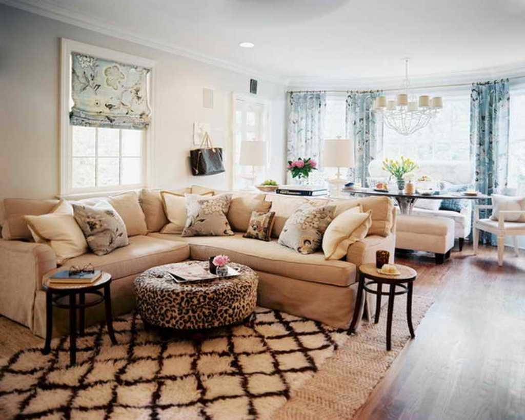 Coffee Table For Large Sectional Sofa | Coffee Tables Decoration Within Coffee Table For Sectional Sofa (View 6 of 15)
