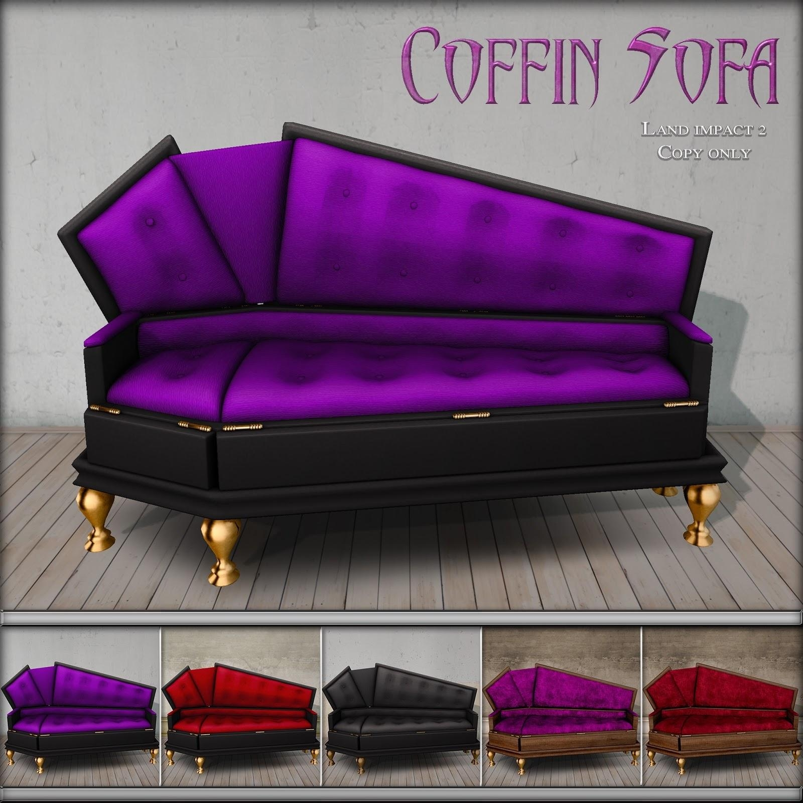 Coffin Sofa With Inspiration Image 38196 | Kengire Pertaining To Coffin Sofas (View 14 of 20)